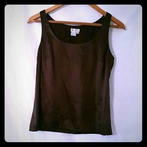 Worth sleeveless blouse 100%silk